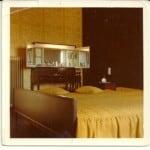 Schlafzimmer aus den 1960
