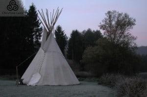 Schlafzimmer der Indianer