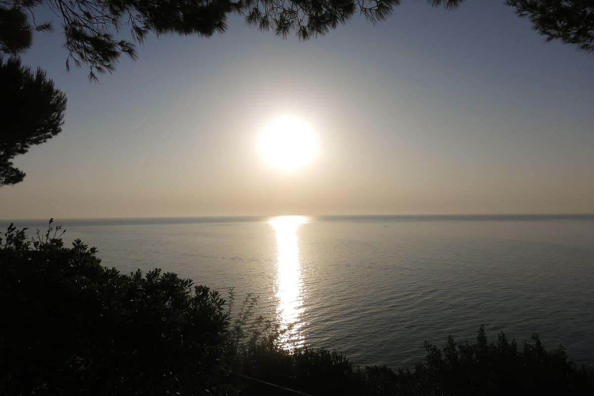 Sonnenaufgang zum wach werden