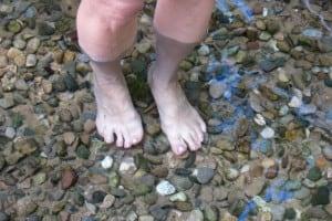 Enstpannung für die Füße