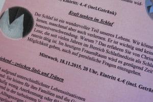 Kraft tanken im Schlaf @ kulturladen Ziegelstein   Nürnberg   Bayern   Deutschland