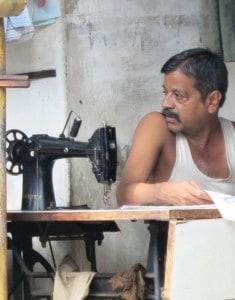 Näherei in Indien von C. Lenz #Schlafprojekte