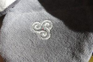 anthrazit Grau Schlafmaske
