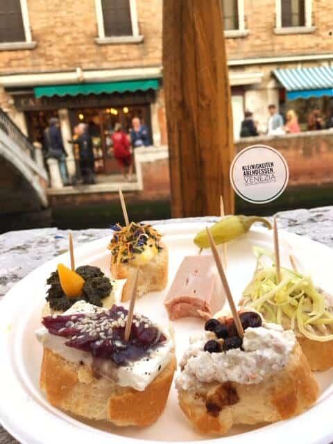 Essen in Venedig